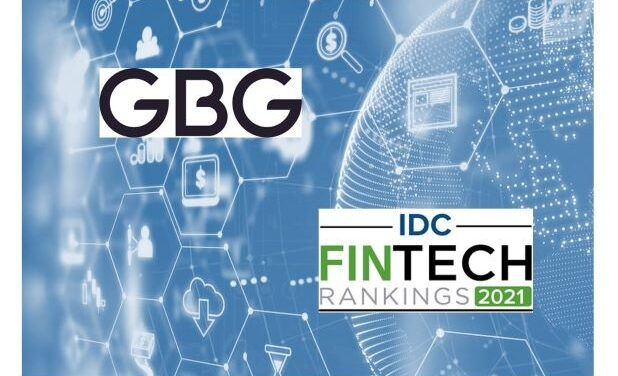 GBG Named to Prestigious IDC FinTech Top 100 Rankings List