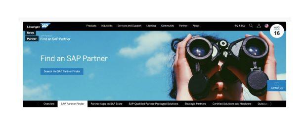 Palturai Live On The New SAP Partner Finder