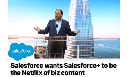 """Salesforce Goes All in on B2B Media Experiences with the Start of """"Salesforce+ as """"Business Netflix"""""""