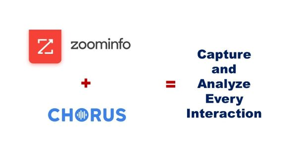 ZoomInfo Announces Its First Integrations with Chorus.ai