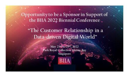 BIIA 2022 Biennial Conference Sponsorship Opportunities