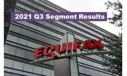 Equifax Q3 2021 Revenue Up 14% – Segment Results